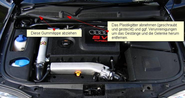 Motorraum A3 (S3)
