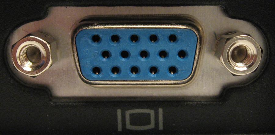VGA-Anschluss