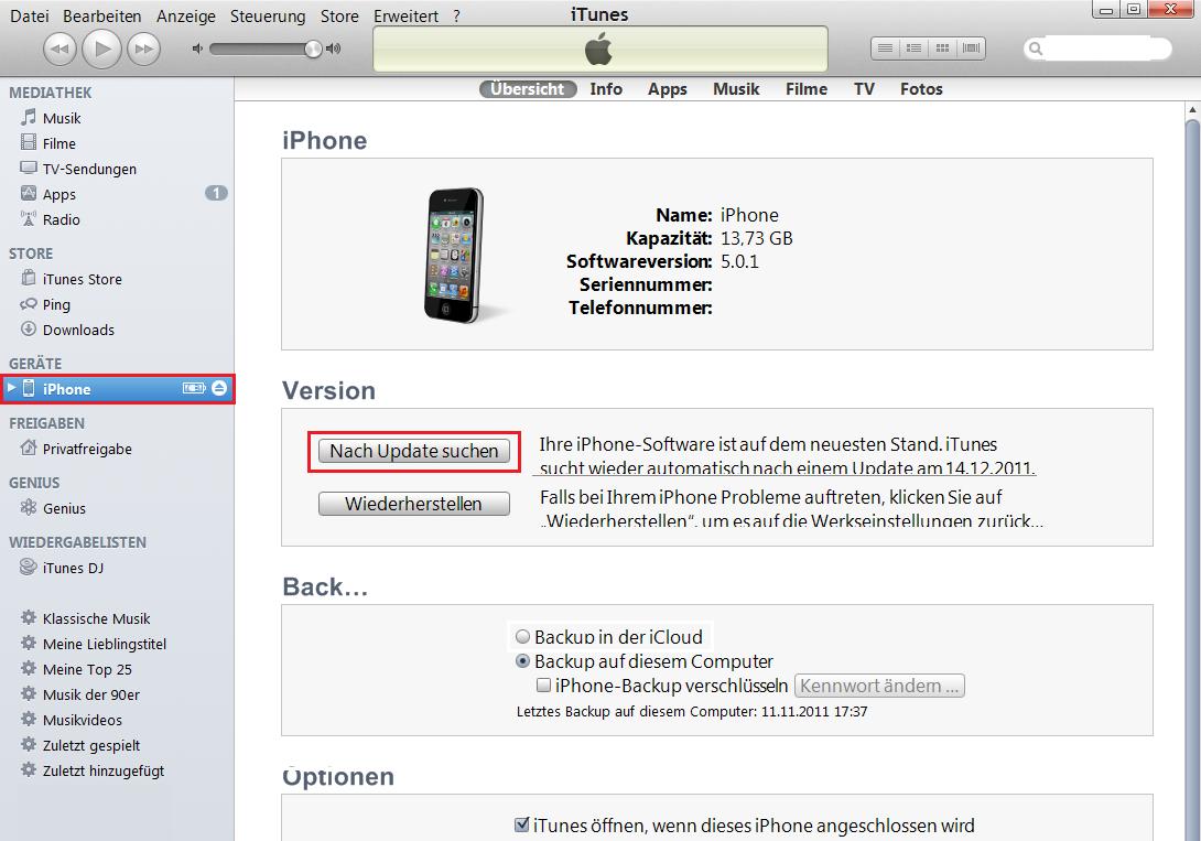 Neues Iphone Einrichten Itunes