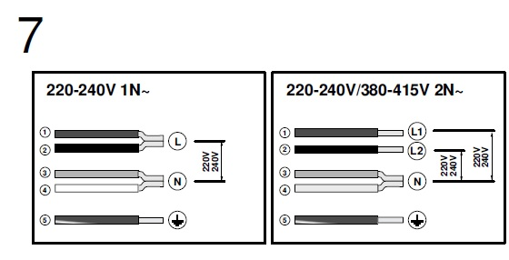 induktionskochfeld anschluss 230v licht f r haus und terrasse. Black Bedroom Furniture Sets. Home Design Ideas