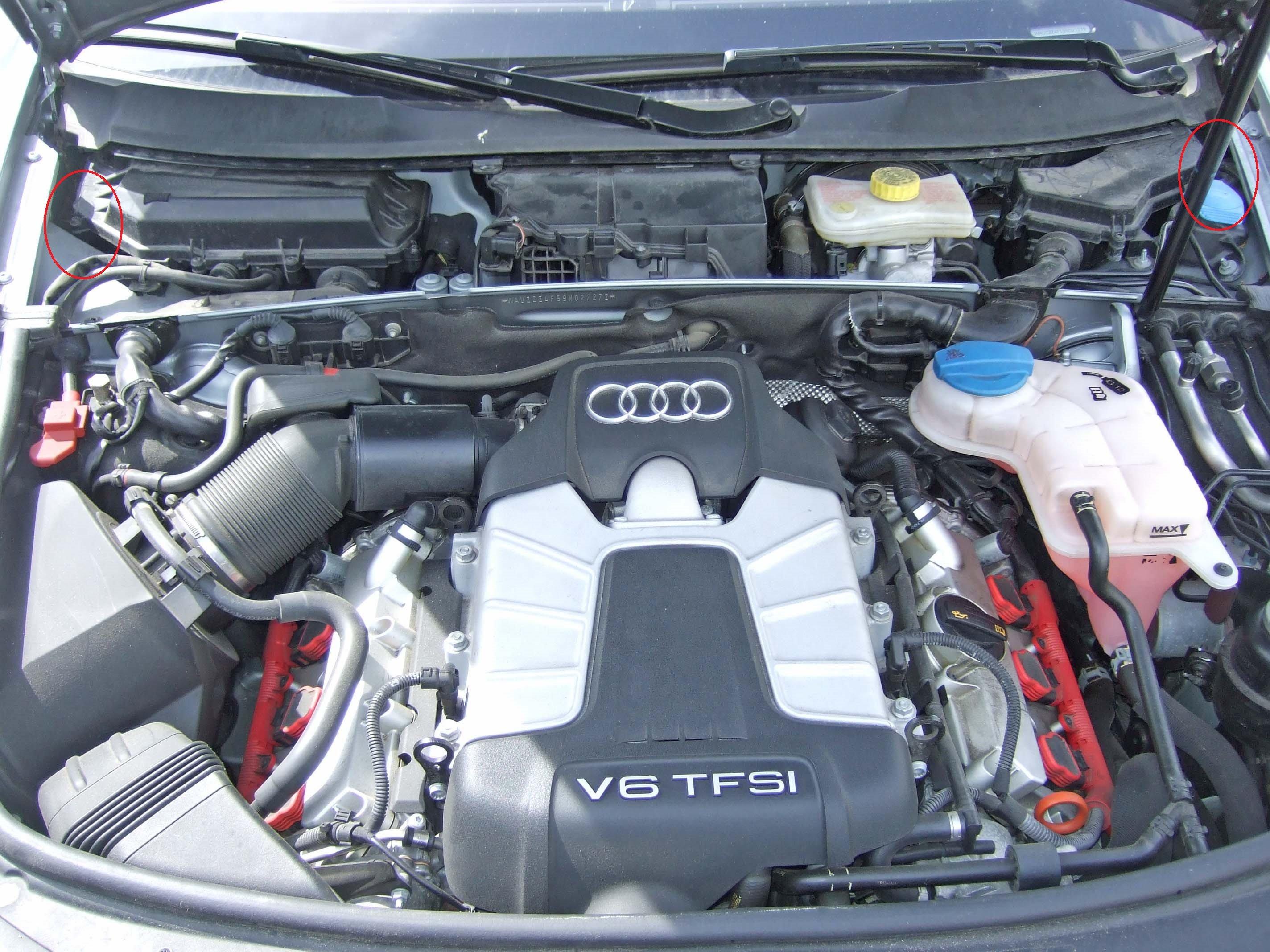 Guten Morgen Habe Wassereintritt Audi A6 4f 3 0 Tfsi Baujahr