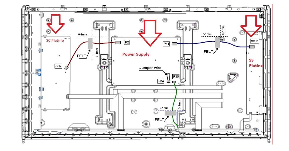 panasonic viera tx p50vt30e blinkt 7 mal rot dann kurze pause schaltet. Black Bedroom Furniture Sets. Home Design Ideas