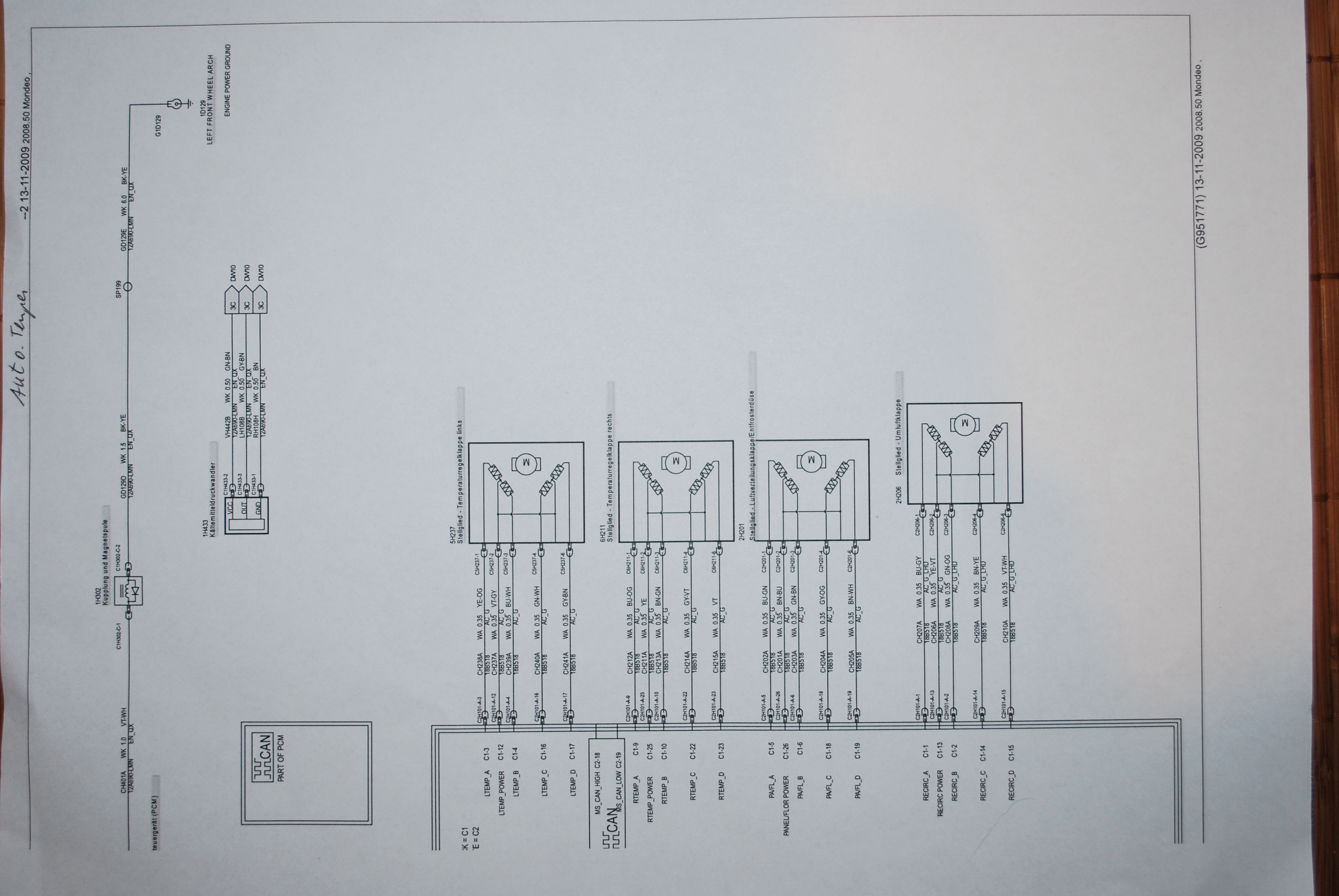 Berühmt Ford Mondeo Schaltplan Zeitgenössisch - Verdrahtungsideen ...